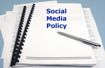 ソーシャルメディアポリシーを策定・更新しました。